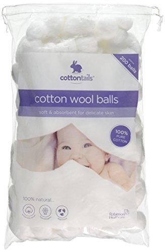 Robinson Healthcare COTTONTAILS Wattebällchen 200 balls