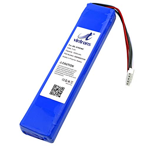 VINTRONS GSP0931134 Battery for JBL Xtreme, JBLXTREME, JBL GSP0931134, (7.4V, 5000mAh, JBL Xtreme Battery Replacement)