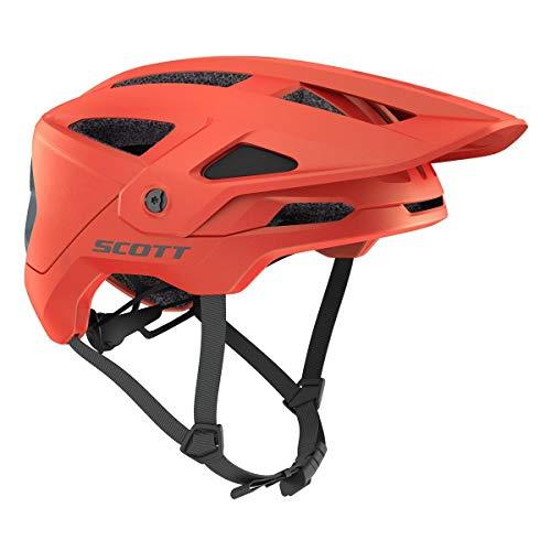 Scott Stego Plus MTB Bicycle Helmet Orange 2021: Size S (51-55cm)