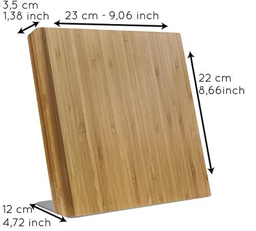 Coninx Quin Magnetischer Messerblock Holz - 3