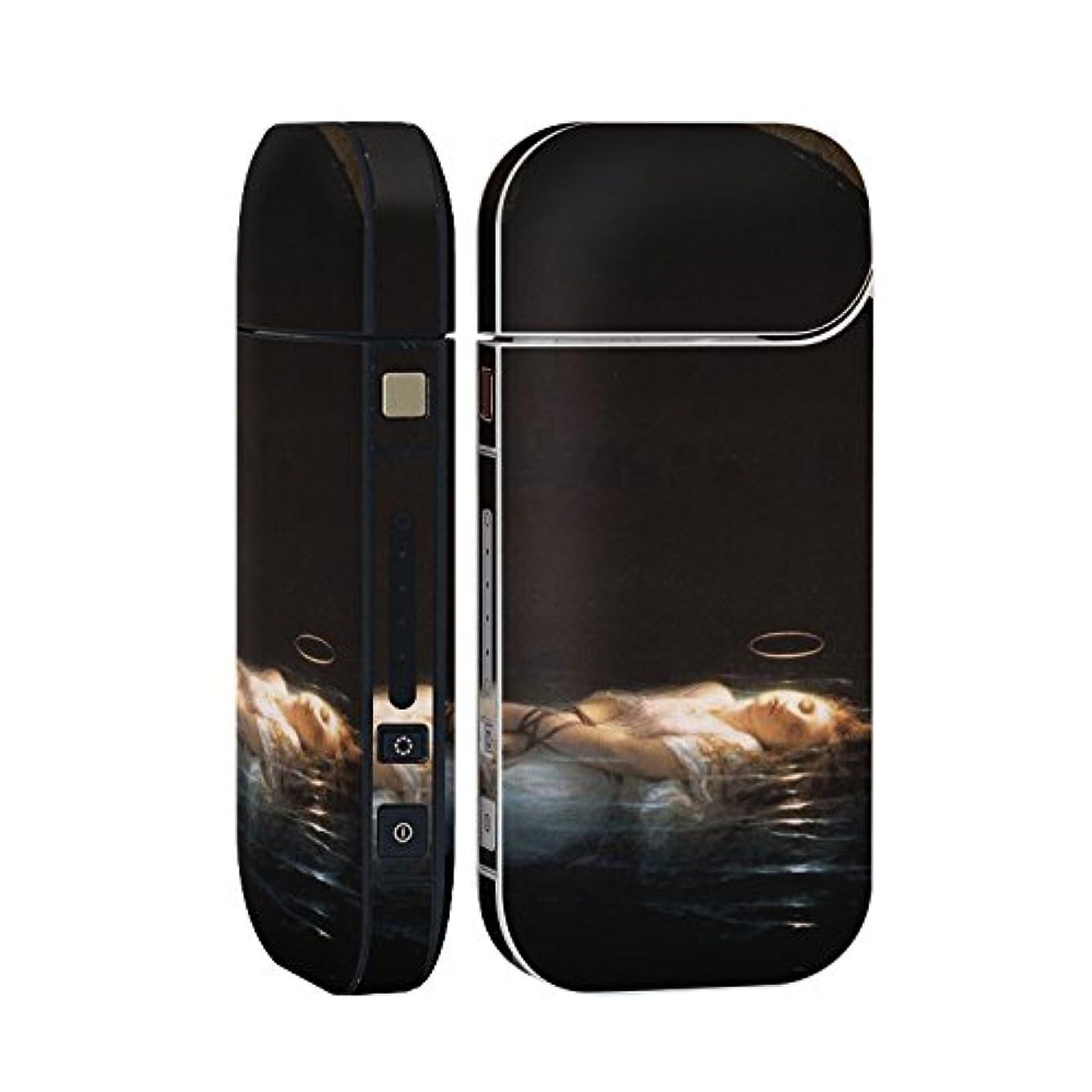 配る不実外側スマコレ IQOS 2.4 Plus 専用 シール 全面 ケース おしゃれ 全面ケース 保護 ステッカー デコ アクセサリー デザイン 写真?風景 クール 人物 絵画 イラスト 003213