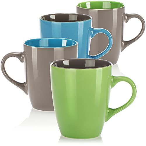 com-four -  ® 4x Kaffeebecher