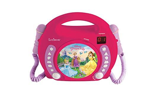 Lexibook Disney Princess Rapunzel CD player for kids with 2 toy...