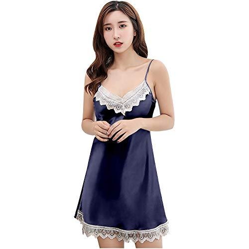 Xuthuly Damen Sexy Spitze Frauen Mode Sexy Kleid Spitze Lingerie Elegant Unterwäsche Versuchung sexy Oberteil Damen für Sex reizwäsche Robe Bademantel Pyjama Babydoll Reizwäsche