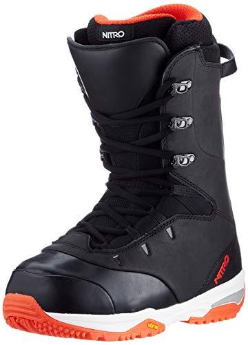 Nitro Snowboards Venture Pro STND 20 All Mountain Freeride Bottes de Snowboard pour Homme Noir/Rouge 27.0