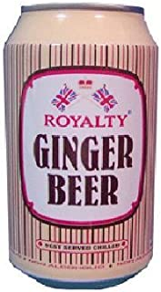 Royalty Ginger Beer Drink, 10.1-Ounce Cans (Pack of 24)