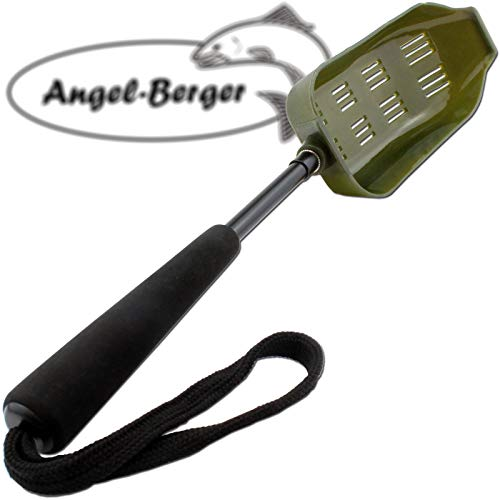 Angel-Berger Futterschaufel mit Griff Wide Futterkelle Bait Spoon