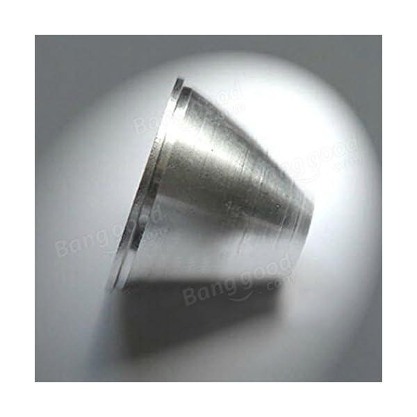 Bazaar-C8-XM-L-T6-Orange-Peel-Reflektor-Taschenlampe-Cup