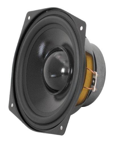 DynaVox 204205 Basslautsprecher, 4 Ohm, 130 mm schwarz