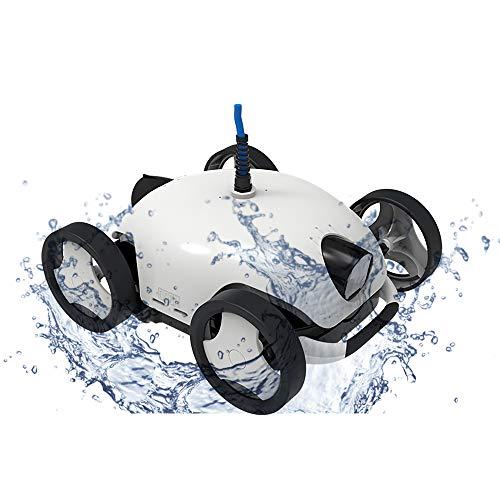 Sunbaca Limpiador robótico para Piscinas, máquina limpiadora automática para Piscinas, realiza una...