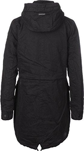 Damen Mantel ragwear Clancy Mantel,black,Gr.S