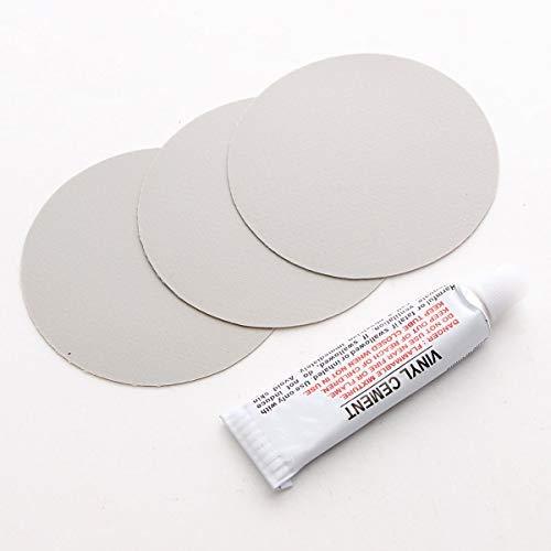 3 Stks Circulaire PVC Reparatie Patches met Vinyl Cement Lijm voor Rubber Boot
