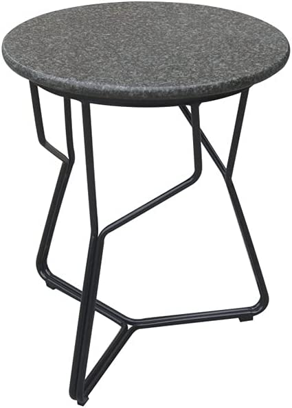 PIAOLING Outdoor Portable Our shop OFFers the best service Folding Table Side 17.7âMetal Max 55% OFF