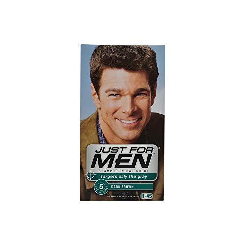Just For Men Dk Brwn #45 Size 1ct Just For Men #45 Dark Brown Haircolor