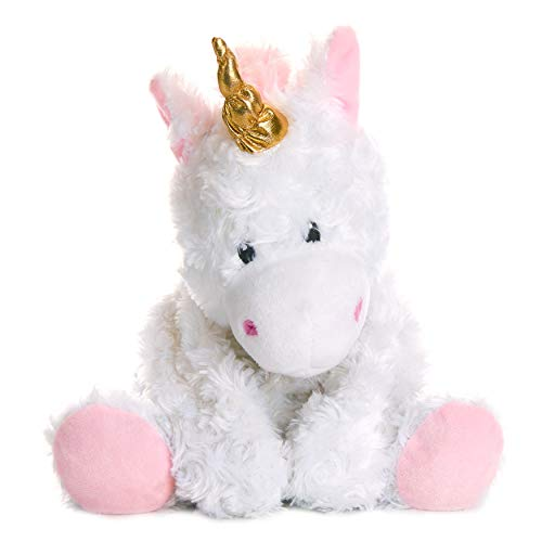 Warm Pals Microwavable Lavender Scented Plush Toy Stuffed Animal - Magical Unicorn
