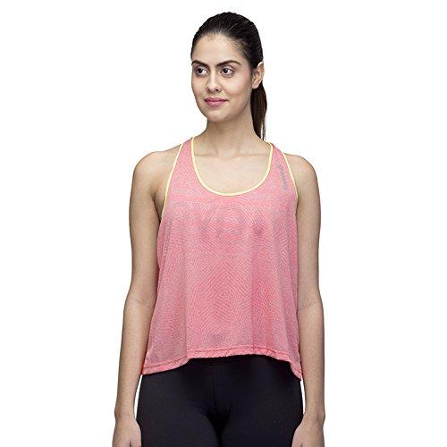 Reebok RE BO Tank - Camiseta para Mujer, Color Gris, Talla L