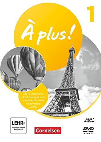 À plus ! Neubearbeitung - 1. und 2. Fremdsprache - Band 1: Audio-CDs und Video-DVD