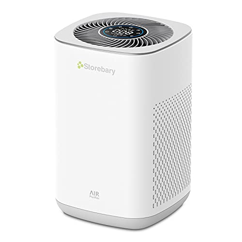 Air Purifier with H13 True HEPA Filter, Air Cleaner for Pets, Allergies, Dust, Pollen, Smoke, Mold, and Odors, C350 Air Purifiers for Home, Large Room, Bedroom, Office by Storebary