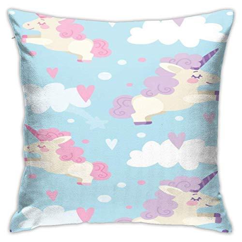 Throw Pillow Covers, Unicron Cushion Square Case Fundas de Almohada Sofá Decoración para el hogar