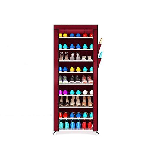 Decoración de muebles Caja de zapatería plegable Caja de zapatos Simple zapato Zapato Rack Multi-capa Almacenamiento Zapato Mueble Multifunción Economía Casa zapatería Estante para zapatos Botas Zapat