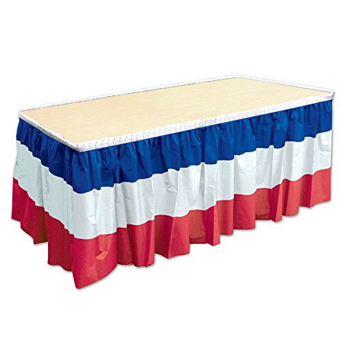 French Patriotic Table Skirting, 29