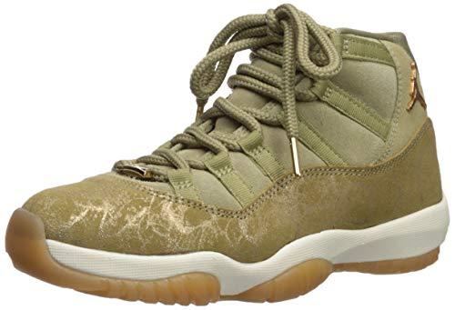 Nike Damen WMNS Air Jordan 11 Retro Fitnessschuhe, Mehrfarbig (Neutral Olive/MTLC Stout/Sail 200), 40 EU