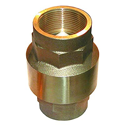 1/2 inch Bronze In-Line Check Valve from GROSS MECHANICAL