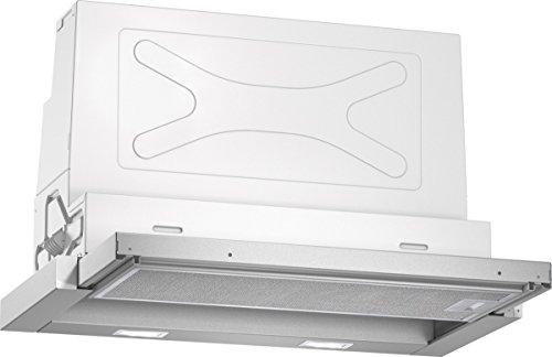 Neff D46ED52X1 Einbau-Dunstabzugshaube / Flachschirmhaube N50 / 60cm / Abluft oder Umluft / Energieeffizienzklasse A / silbermetallic
