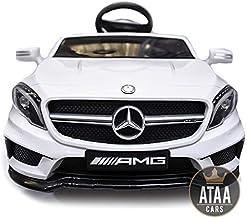 ATAA Mercedes GTR bater/ía 12v Coche el/éctrico para ni/ños con Mando Control Remoto Verde