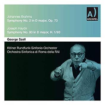 Brahms: Symphony No. 2 in D Major, Op. 73 - Haydn: Symphony No. 93 in D Major, Hob. I:93