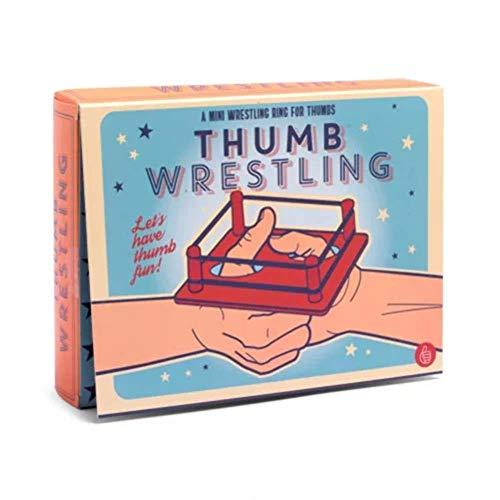 Tischspiel Daumen Wrestling ein Prima Pausenspiel