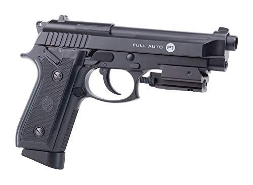 Crosman CFAMP1L Full Auto P1 CO2 Powered Blowback BB Air Pistol With Laser Sight (Class II <1 mW)