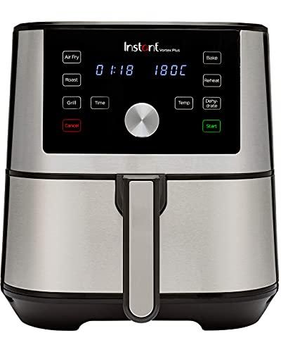 Instant Brands Vortex 6 Plus 6-in-1-Luftfritteuse 5.7L - Heißluft-frittieren, Backen, Braten, Grillen, Dehydrieren und Aufwärmen-1700W