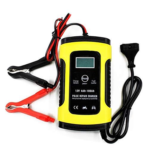 Arrancador De Coches Automático lleno de coche cargador de batería de 110V a 220V a 12V 6A inteligente de la energía de carga rápida visualización seco mojado Digital Arrancador De Baterias