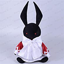 Fymmm`shop Animal De Peluche Pandora Hearts Alice B-Rabbit 35Cm Cosplay Mascot Toy Anime Black Stuffed & Plush Cartoon Doll