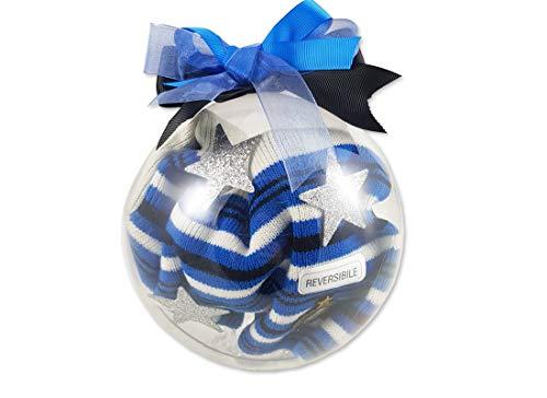 Pallina Natalizia Fai Da Te Con Cappello Squadra Del Cuore Idea Regalo (Inter)