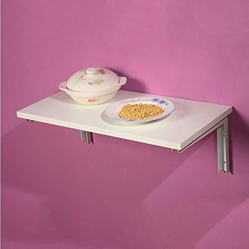 WTT verstelbare plank voor het opvouwen van tafels, wandplanken, kleine wandplank, 3 kleuren verkrijgbaar, 60 x 40 cm, draaibaar (kleur: C)
