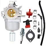 594593 Carburetor with Spark Plug Fuel Shut-Off Valve kit fit for Briggs Stratton 699937 791858 791888 792171 792358 793224 Engines -  SOOGE