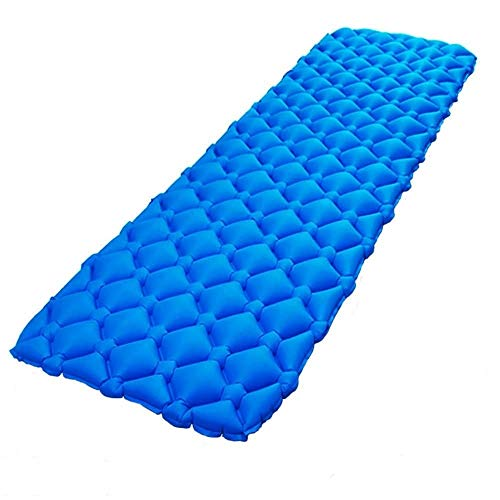 YKYK Outdoor Camping Mat Nylon TPU 192x60x5.5cm Air Mattress Ultralight Inflatable Air Bed For Hiking Picnic Beach Tent Sleeping Bed