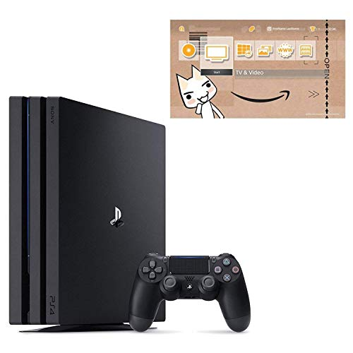 PlayStation 4 Pro ジェット・ブラック 1TB (CUH-7200BB01)【Amazon.co.jp限定】オリジナルカスタムテーマ (配信)