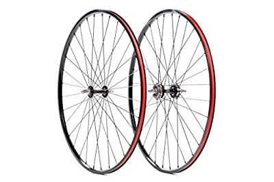 State Bicycle Co. Lo Pro Classic Fixed Gear Freewheel Wheelset, Black