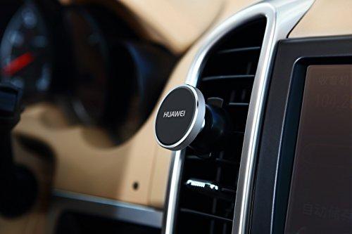 Huawei 02452458 Magnetic Auto Lüftungsschlitz Halter, AF13 Schwarz/Silber - 5