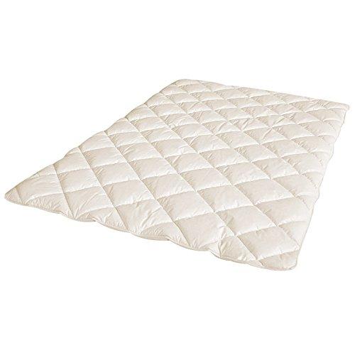 Öko Planet Wildseide Bettdecke Medium 135x200 cm, 100% Tussah-Seide Füllung, leichte Seidendecke für das ganze Jahr