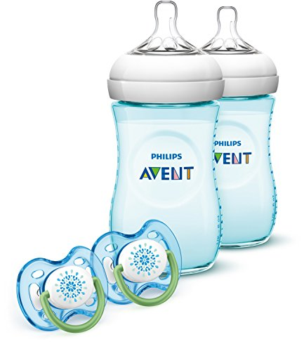 Great Features Of Philips Avent Natural Baby Bottle Teal Gift Set, SCD693/24