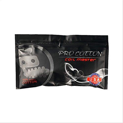 Original Coil Master Pro Cotton, langlebig und geschmacksneutral