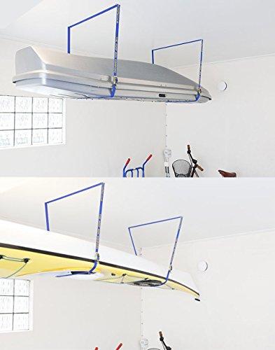 Fasty - Box Lift Straps/Garage Storage Lift/Cargo Lift - 2 Straps - 12' Long, 1' Wide - OSHA 100 lb...