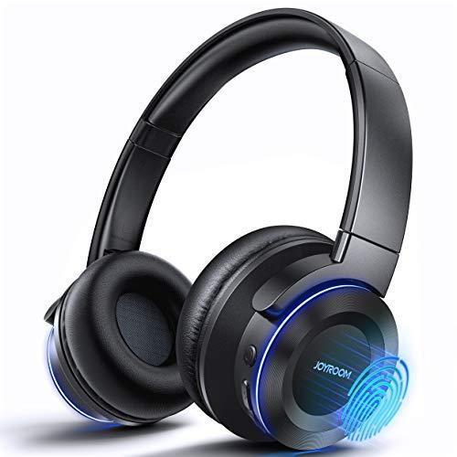 Avanzado 3 en 1 - Auriculares Bluetooth inalámbricos con micrófono integrado, 7 colores, 40 horas de autonomía Micro SD para teléfono PC TV