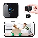 [Neu] MARKLIVE Mini Kamera, 1080P HD WLAN Kamera, Mini IP Kamera, Mit Weitwinkel IR Nachtsicht Bewegungserkennung Und Cloud-Speicher Handy-App, Kleine Kamera geeignet für die Innenüberwachung