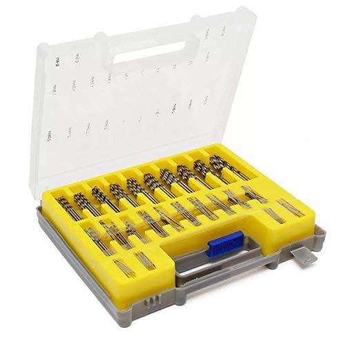 LKK-KK 0.4mm-3.2mm 150pcs Micro Twist Drill Bit Set Mini HSS Straight Shank Drill only