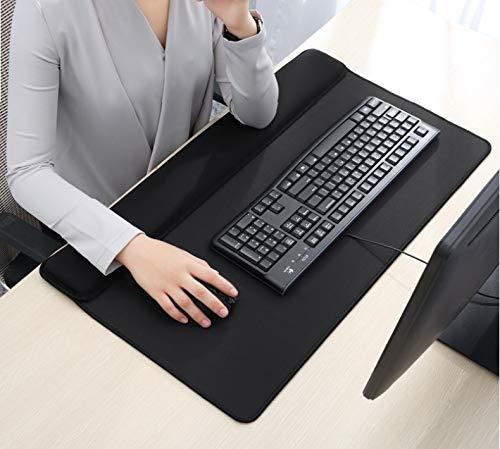 Tappetino per poggiapolsi per mouse mouse tastiera N 3 in 1 allungato formato in un unico pezzo, grande cuscino da polso 70Lx40CM Ergoneer sulla scriv